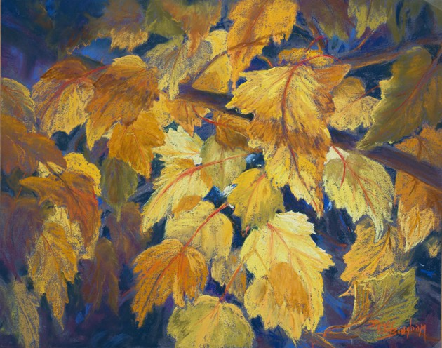 Fall Leaves Painting Fall Leaves